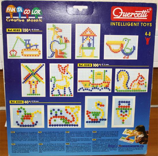 Quercetti мозаика 0583
