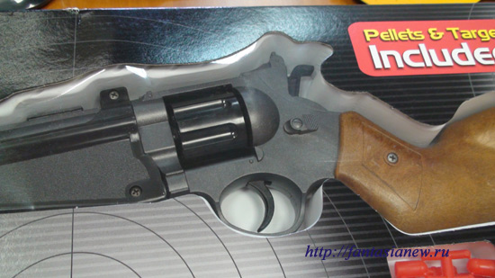 626 Детский тир Edison Giocattoli револьвер с силиконовыми пульками